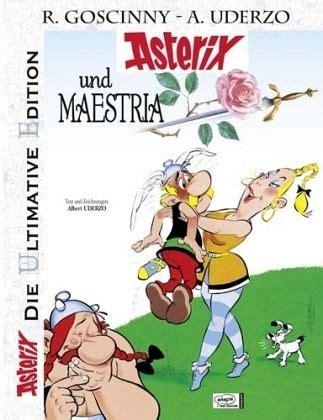 asterix und maestria asterix luxusedition bd von