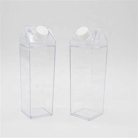 stock popular rectangle bpa  resauble ml clear