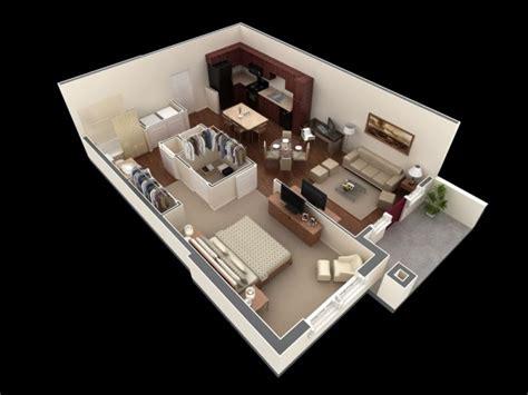plan 3d chambre plan 3d appartement 1 chambre 38