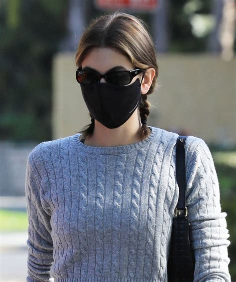 Kaia Gerber Leaving a pilates class in West Hollywood ...