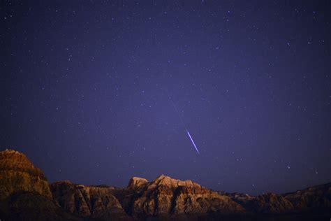 bureau meteor las vegas valley residents can still experience perseid
