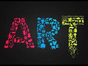 Beautiful Art Text Wallpaper