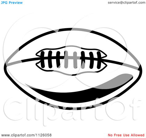 american football vector black and white clipart of a black and white clipart panda free