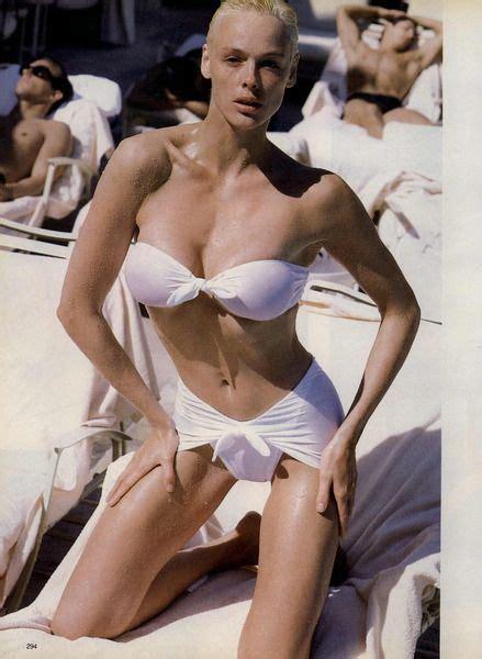 brigitte nielsen swimsuit brigitte nielsen 80s pinterest vogue editorial 80s