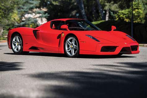 Unique Rosso Scuderia Ferrari Enzo To Be Auctioned In May