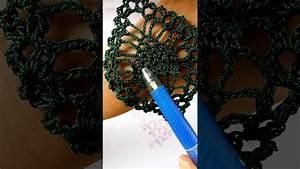 How To Read Crochet Diagrams - Pineapple Earrings