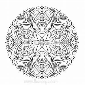 Flower Mandalas Coloring Book by Thaneeya McArdle ...