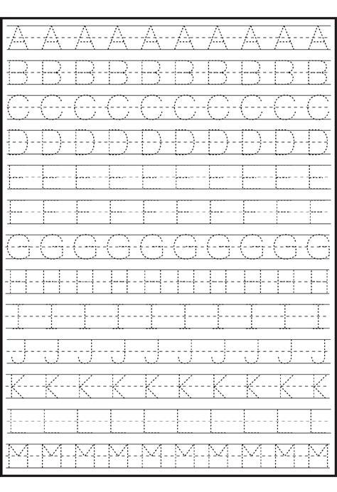 tracing alphabet  writing practice kids activity