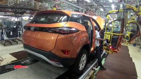 Tata Harrier Manufacturing Is 90% Automated  Built With