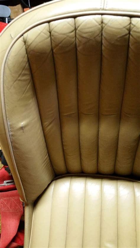 réparer canapé simili cuir reparation siege auto ancetre sofolk