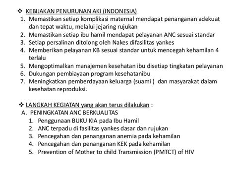 Mencegah Pendarahan Hamil Muda Dr Indrajid Upaya Menurunkan Aki Akb
