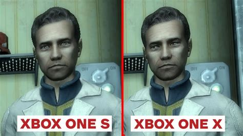 4k fallout 3 xbox one x enhanced vs xbox one s graphics