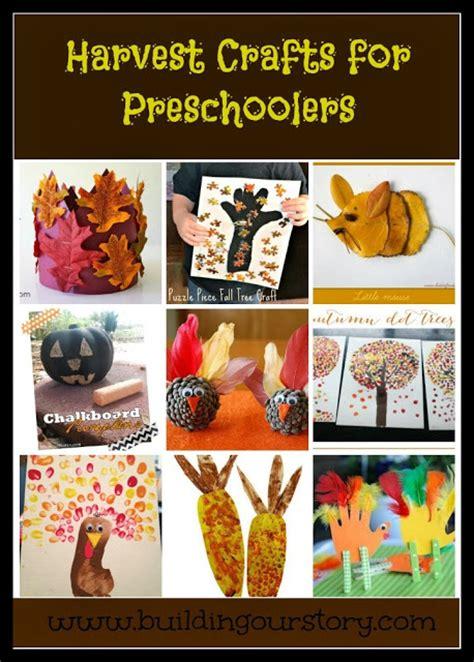 harvest crafts for preschoolers building our story 245 | harvestcrafts
