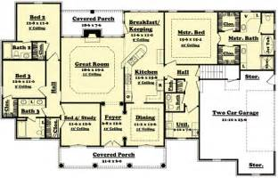 simple four bedroom house plans 4 bedroom house design