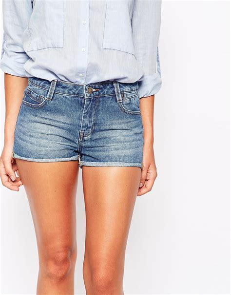 Buy Sofas Uk by Warehouse Mini Denim Shorts At Asos Com