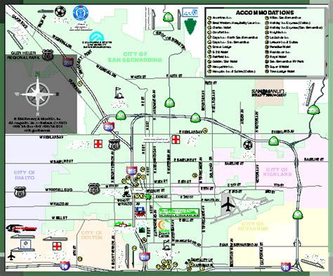 city  san bernardino california map san bernardino ca