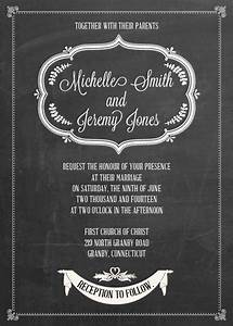 chalkboard invitations template invitation template With chalkboard template microsoft word