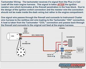 How To Install A Tachometer Wiring Diagram