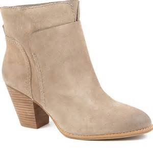 s boots nine nine hollyday suede ankle boots in brown lyst