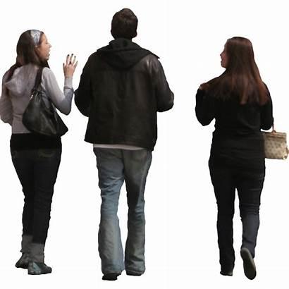 Walking Transparent Person Photoshop Away Silhouette Human