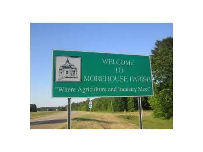Morehouse Parish Louisiana 2836 Sign Bastrop Courthouse