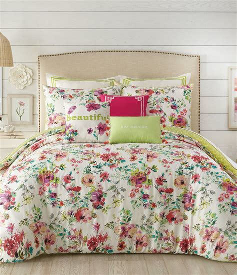 watercolor comforter set watercolor garden comforter mini set