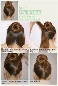 chignon tool nail and hair tutorials xmae girlscene