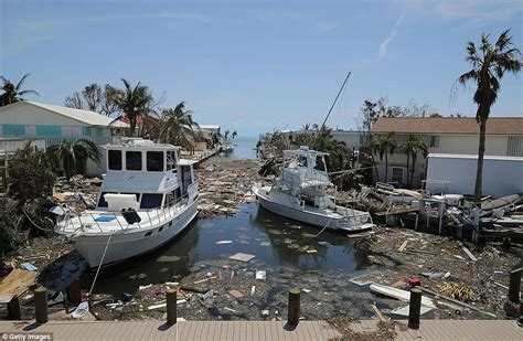 Hurricane Boats In Florida by Hurricane Irma Damaged 90 Of Homes In The Florida