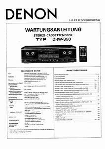 Denon Drw-850