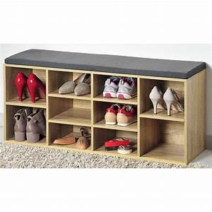 banc interieur bois amazing grand banc de style With banc entree meuble chaussure 18 meuble chaussures maison du monde stunning decoration