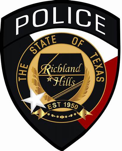 Police Chief Patch Richland Hills Tx Department