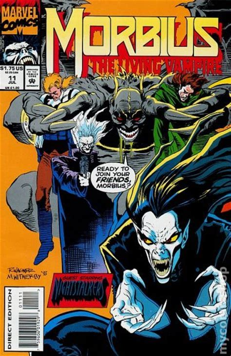 morbius  living vampire  comic books