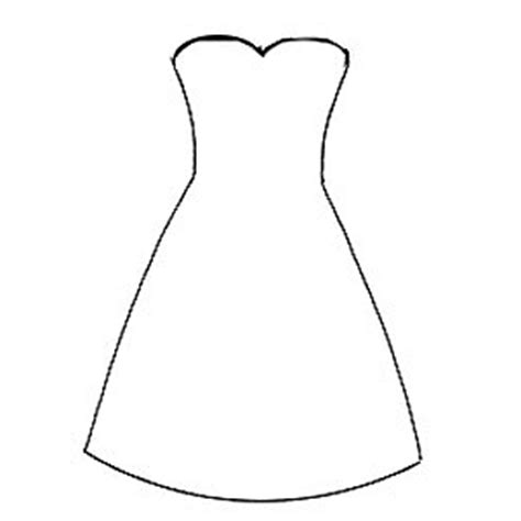 dress template for make this dress card