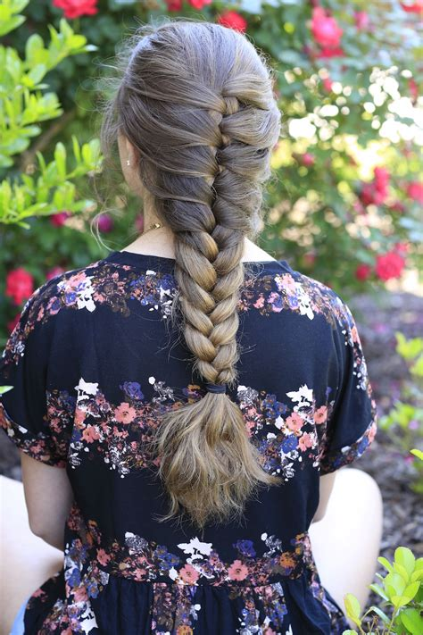 faux french braid cute girls hairstyles