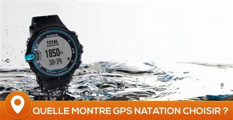 comparatif des meilleures montres gps natation en