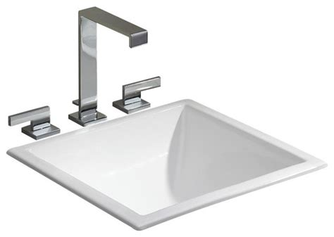 drop in bathroom sink vs undermount square drop in undermount basin contemporary bathroom