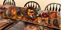 thanksgiving table centerpieces Thanksgiving Table Decorations - Thanksgiving Table Decor - Party City