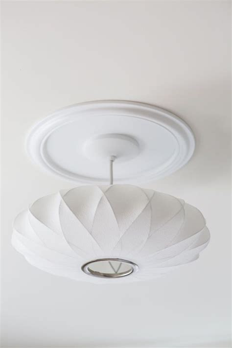 george nelson saucer lamp  home depot ceiling