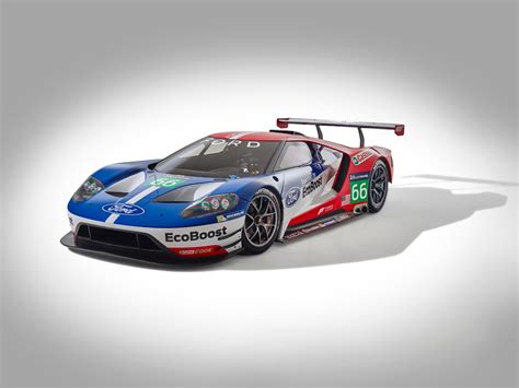 ford gt race car to compete at le mans in 2016 slashgear