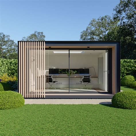 home office design uk garden pods outdoor office building designed by pod space