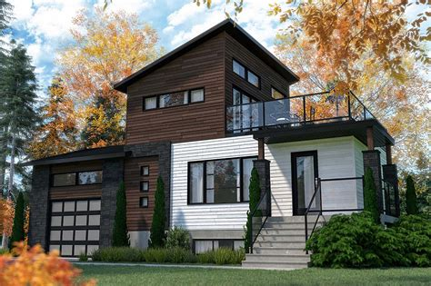 House Plan 76547 Modern Style with 1188 Sq Ft 2 Bed 2 Bath
