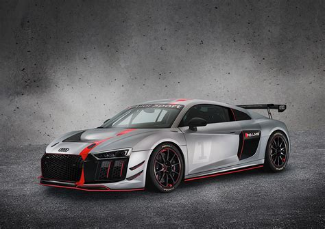 2017 Audi R8 Gt4 Unveiled Its The Race Version Thats