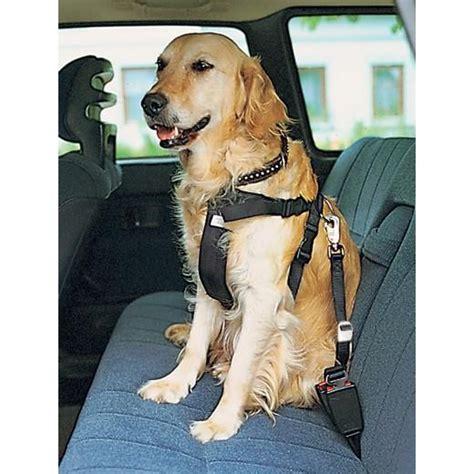 harnais siege auto harnais de sécurité auto sac à dos pour chien fourre