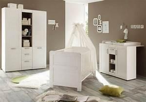 Babybett Weiss Komplett : komplett babyzimmer landhaus babybett wickelkommode kleiderschrank 3 tlg in pinie nb ~ Indierocktalk.com Haus und Dekorationen
