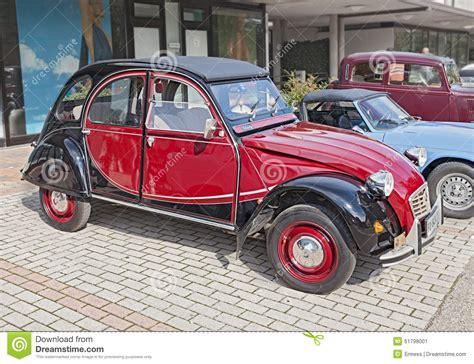 Vintage French Car Citroen 2cv Charleston Editorial Photo