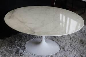 Table Basse Marbre But : table basse knoll marbre ~ Teatrodelosmanantiales.com Idées de Décoration