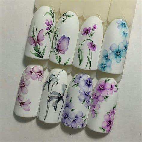 unghie con fiori decorazioni unghie con fiori simonastallone