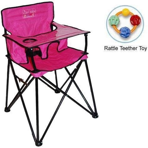 Ciao Portable High Chair Australia by Ciao Baby Portable High Chair With Rattle Teether