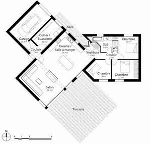 Plan Maison U : plan maison en y ooreka ~ Dallasstarsshop.com Idées de Décoration