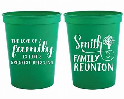 Reunion Gifts Cups Favors Personalized Tree Diy